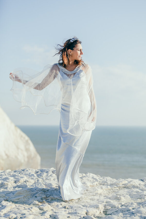Tunalien Upcycle Bridal Cape